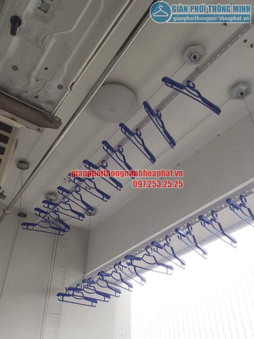 Tặng kèm 30 móc phơi chống bay cao cấp khi lắp đặt bộ giàn phơi HP950-01