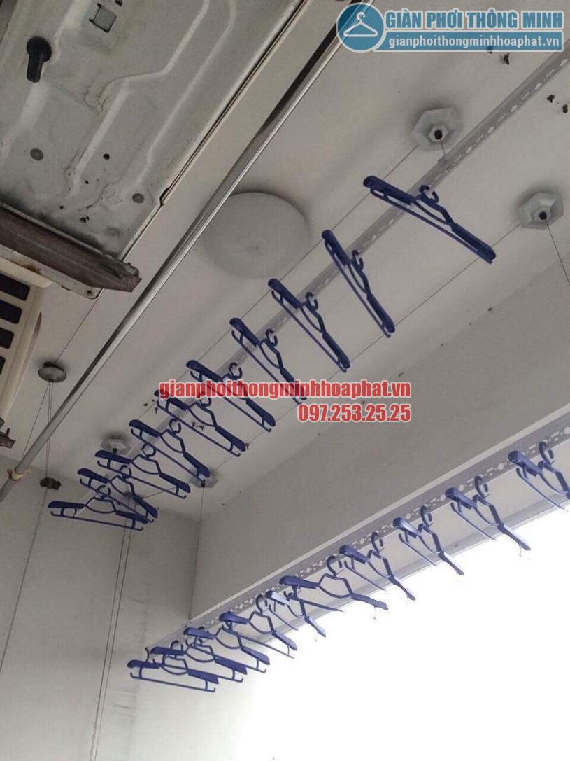 Tặng kèm 30 móc phơi chống bay cao cấp khi lắp đặt bộ giàn phơi HP950-02