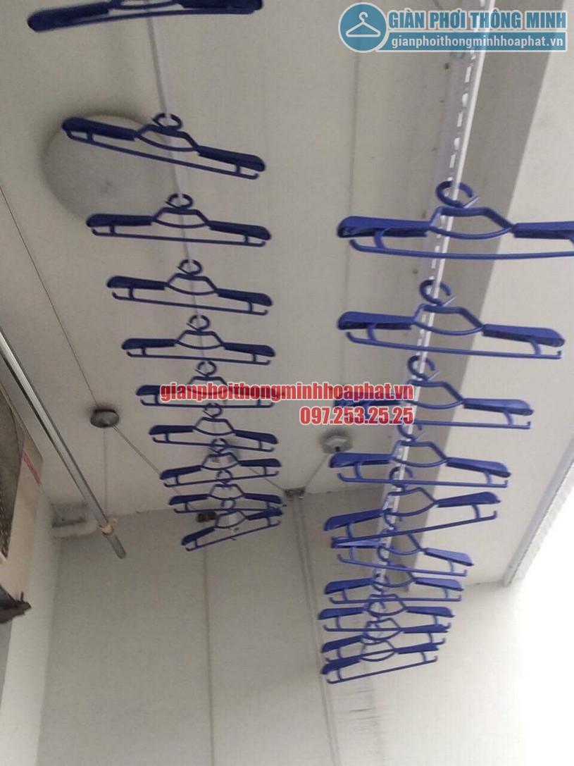 Tặng kèm 30 móc phơi chống bay cao cấp khi lắp đặt bộ giàn phơi HP950-03