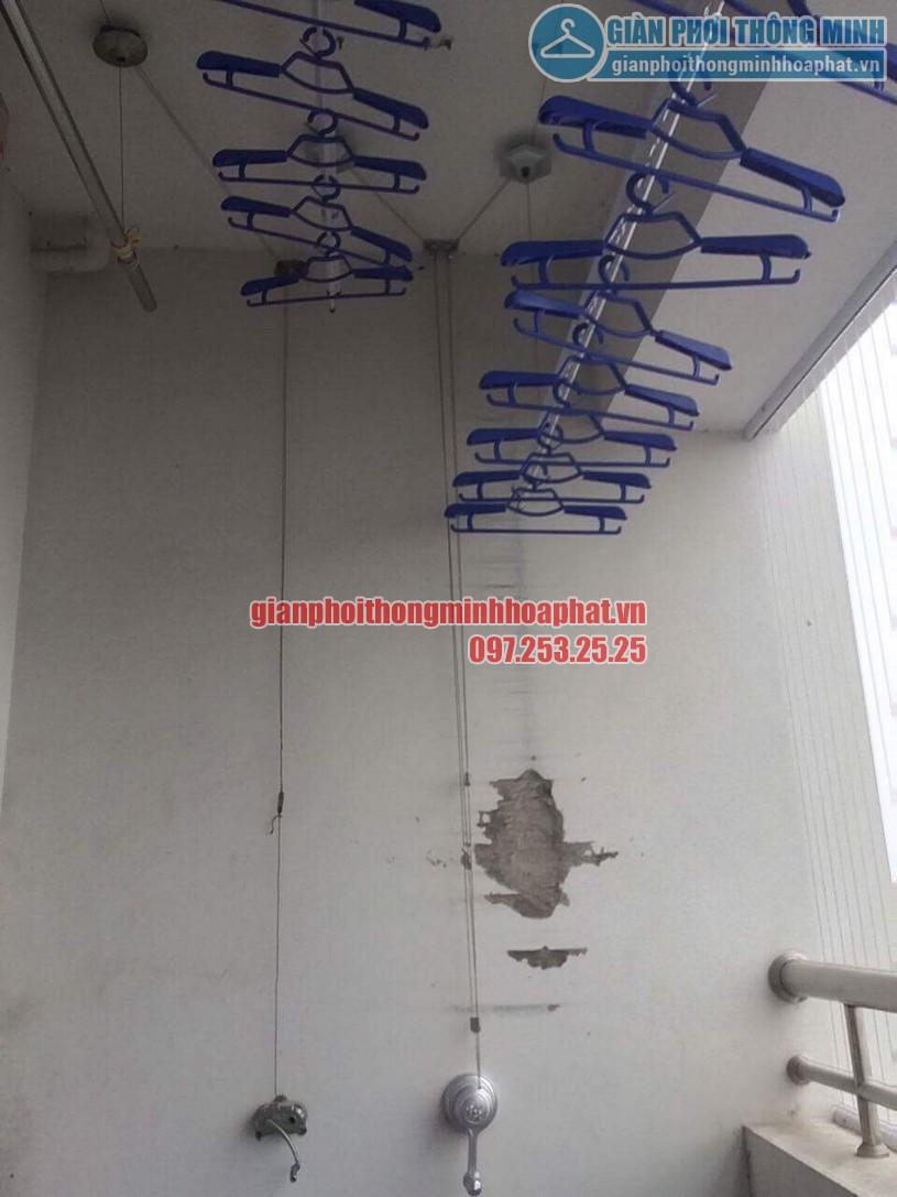 Tặng kèm 30 móc phơi chống bay cao cấp khi lắp đặt bộ giàn phơi HP950-04