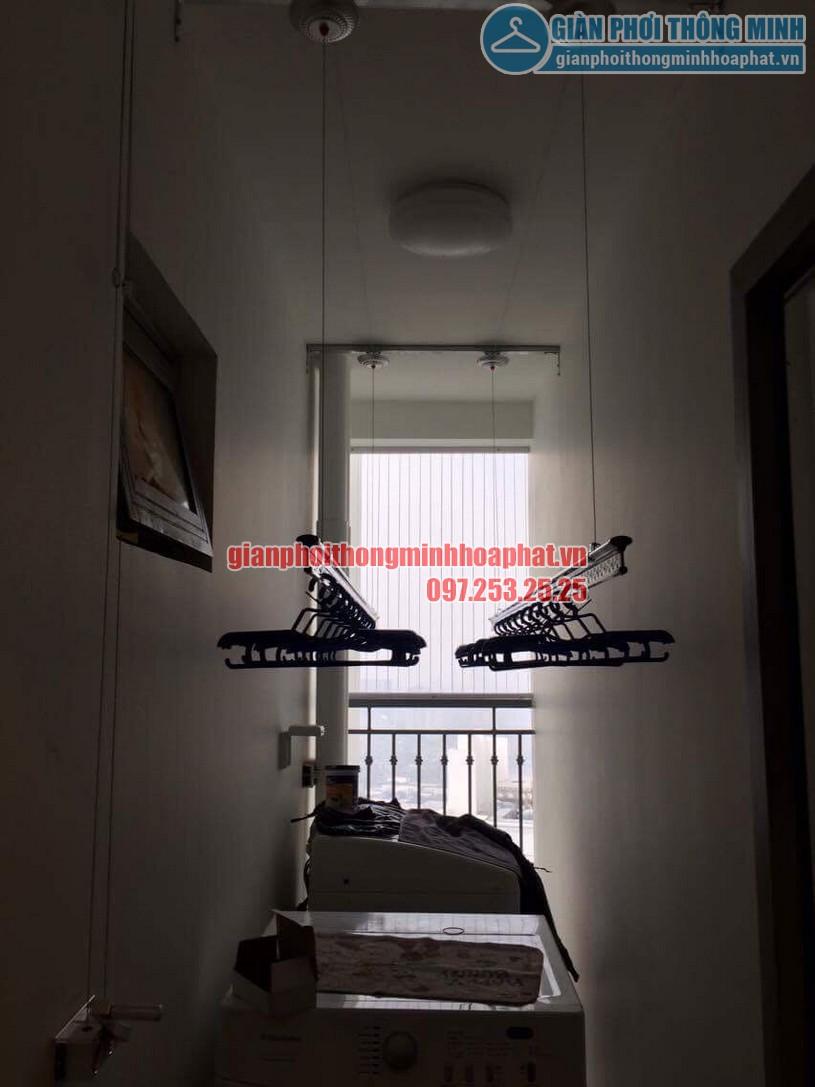 Tận dụng được vị trí để máy giặt sau khi giàn phơi được lắp đặt -01