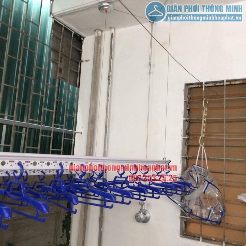 Lắp đặt giàn phơi thông minh cho trần mái tôn