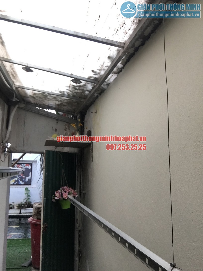 Sửa giàn phơi quần áo thông minh nhà chị Hồng ngõ 238 Âu Cơ, Tây Hồ, Hà Nội-04