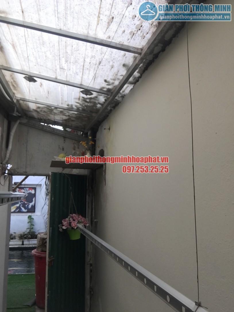 Sửa giàn phơi quần áo thông minh nhà chị Hồng ngõ 238 Âu Cơ, Tây Hồ, Hà Nội-03
