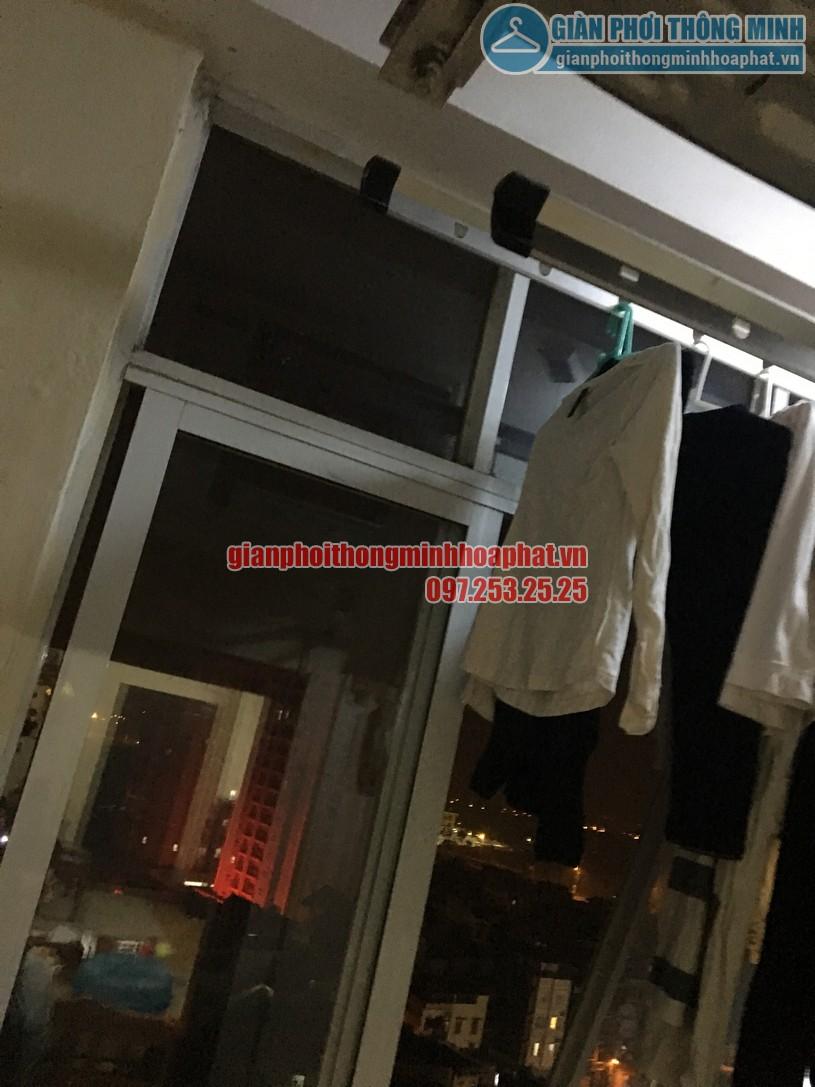 Sửa giàn phơi quần áo thông minh ở chung cư học viện Hậu Cần, phường Ngọc Thụy, Long Biên-03