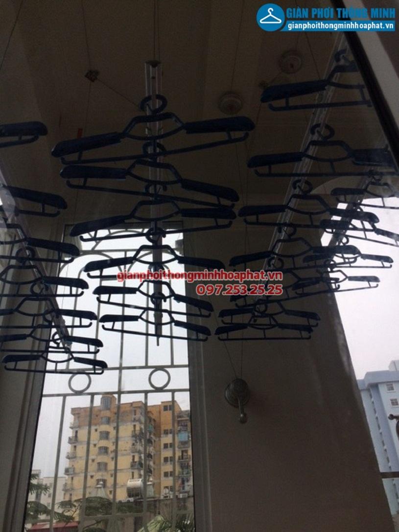 Sửa giàn phơi thông minh nhà anh Bình Trần Quý Kiên, Cầu Giấy, Hà Nội-03