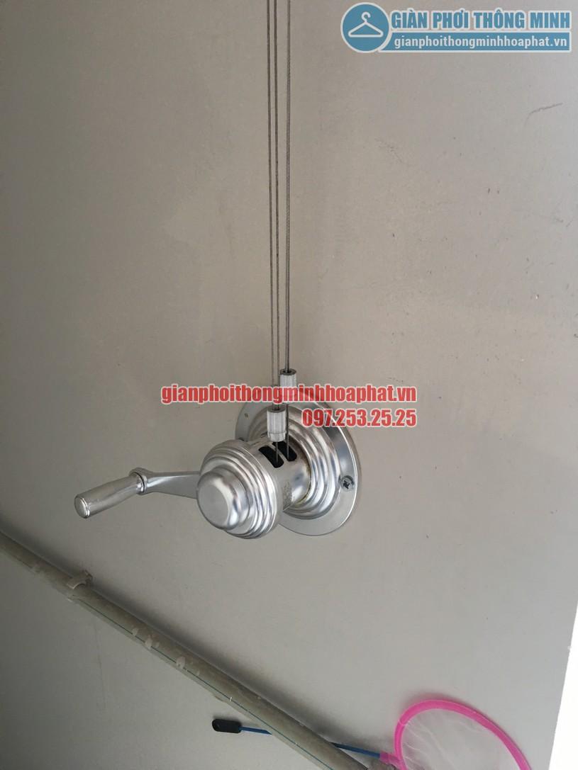 Sửa giàn phơi thông minh nhà anh Trình Star Tower 283 Khương Trung, Thanh Xuân, Hà Nội-01