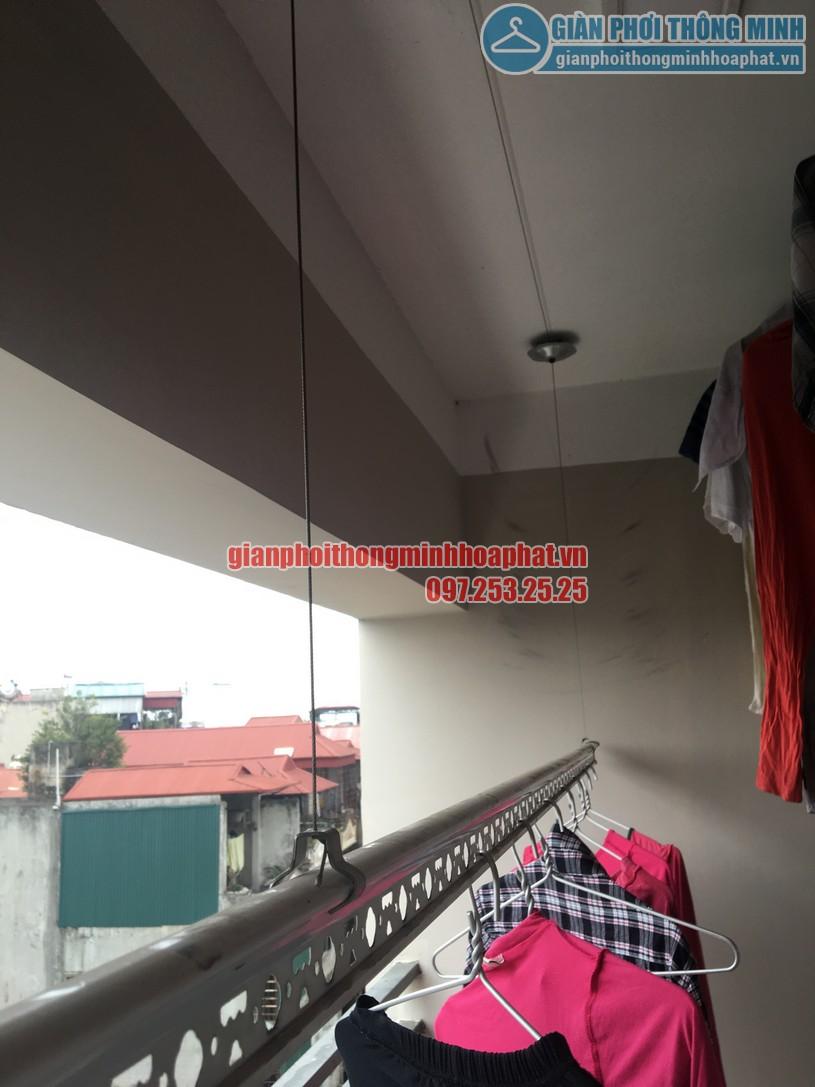 Sửa giàn phơi thông minh nhà anh Trình Star Tower 283 Khương Trung, Thanh Xuân, Hà Nội-03