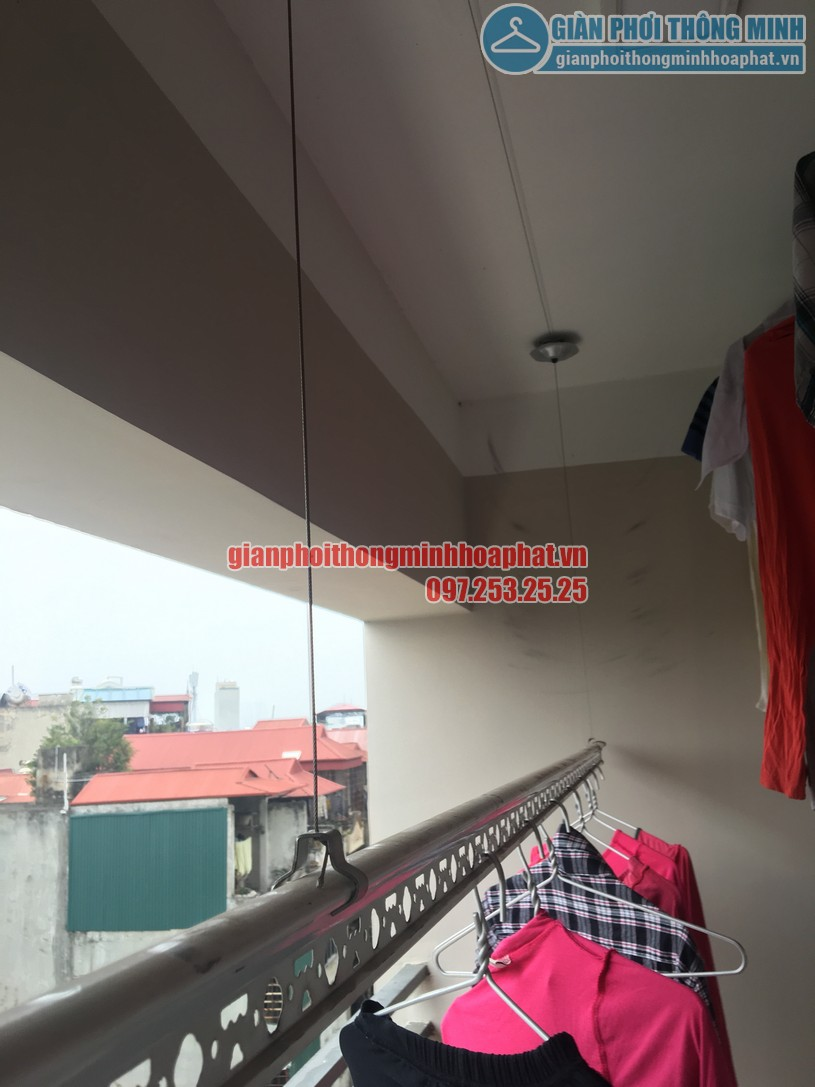 Sửa giàn phơi thông minh nhà anh Trình Star Tower 283 Khương Trung, Thanh Xuân, Hà Nội-04