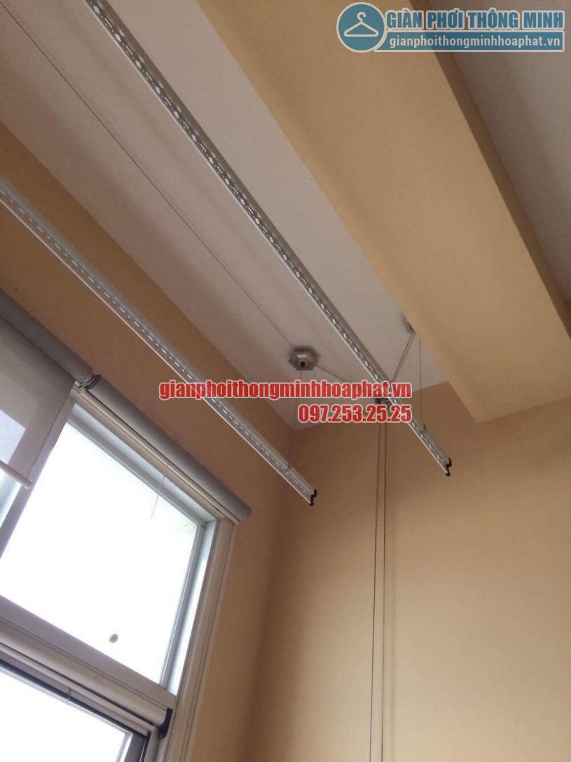 Sửa lỗi đứt dây cáp giàn phơi nhà cô Lành phòng C701, chung cư The Manor, quận Nam Từ Liêm-01