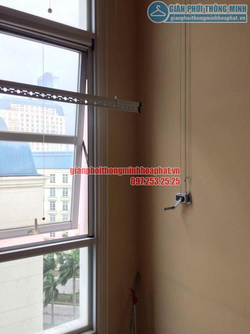 Sửa lỗi đứt dây cáp giàn phơi nhà cô Lành phòng C701, chung cư The Manor, quận Nam Từ Liêm-02