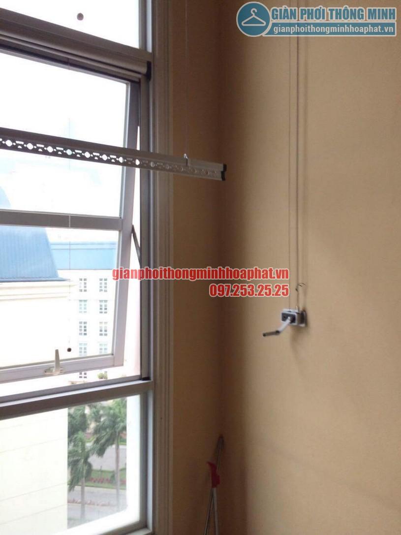 Sửa lỗi đứt dây cáp giàn phơi nhà cô Lành phòng C701, chung cư The Manor, quận Nam Từ Liêm-03