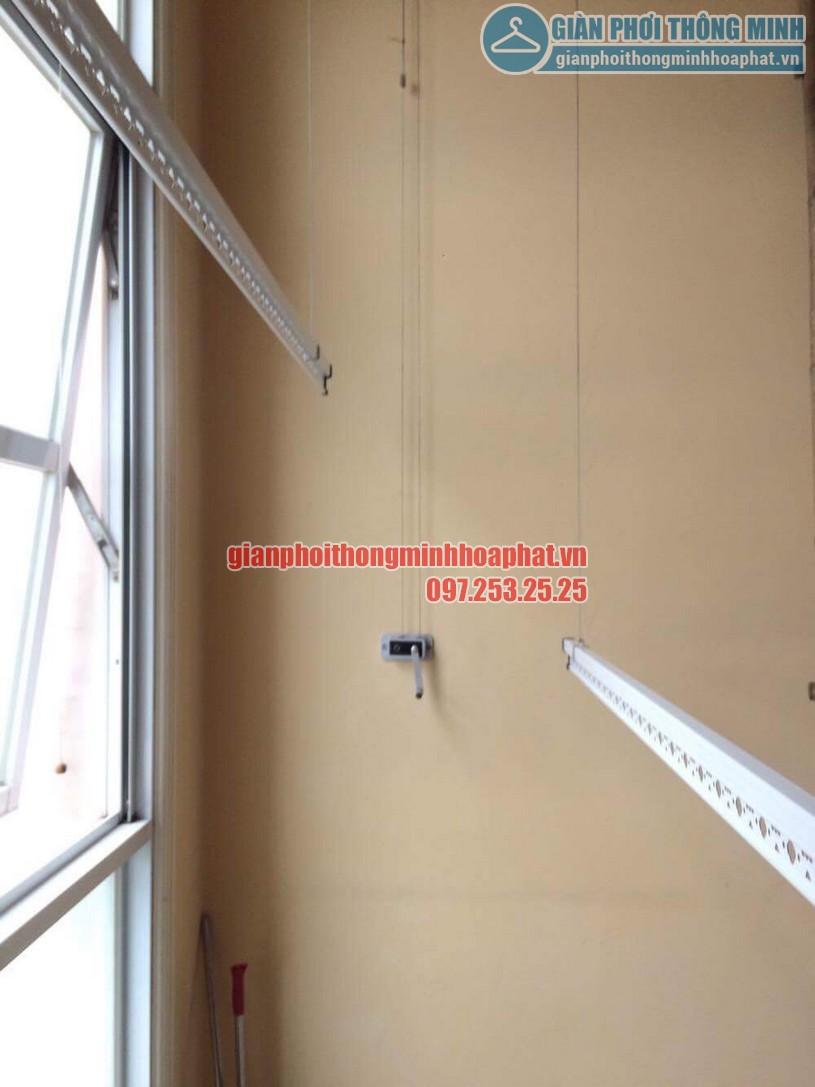 Sửa lỗi đứt dây cáp giàn phơi nhà cô Lành phòng C701, chung cư The Manor, quận Nam Từ Liêm-04