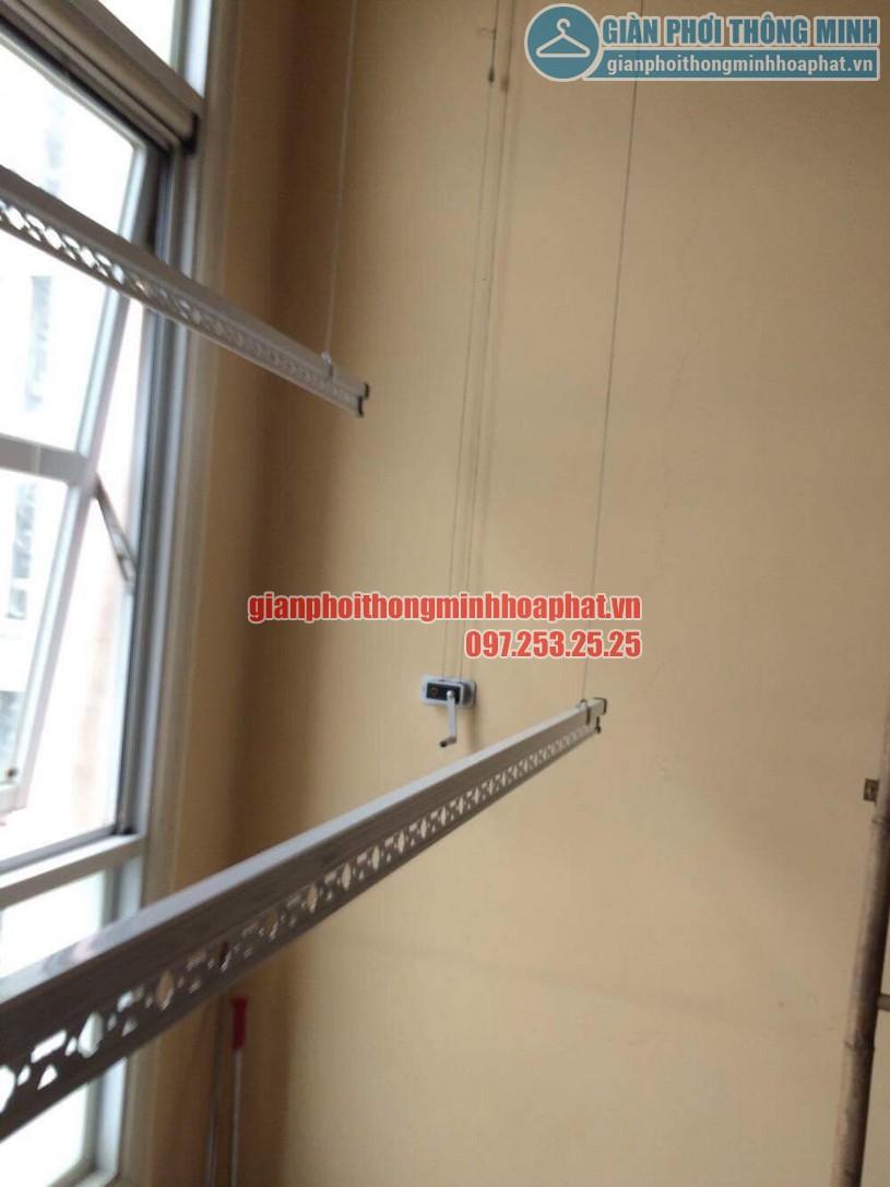 Sửa lỗi đứt dây cáp giàn phơi nhà cô Lành phòng C701, chung cư The Manor, quận Nam Từ Liêm-05
