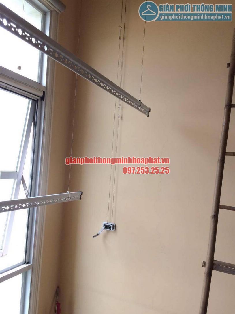 Sửa lỗi đứt dây cáp bộ giàn phơi giá rẻ HP368-01
