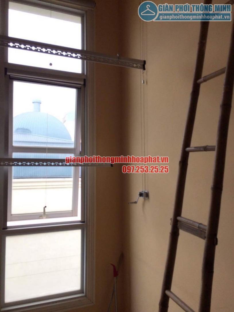 Sửa lỗi đứt dây cáp bộ giàn phơi giá rẻ HP368-02