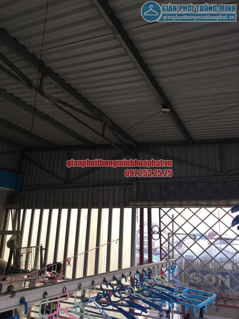 Thay củ quay giàn phơi thông minh nhà cô Chinh ngõ 117 Thái Hà, Đống Đa, Hà Nội-04