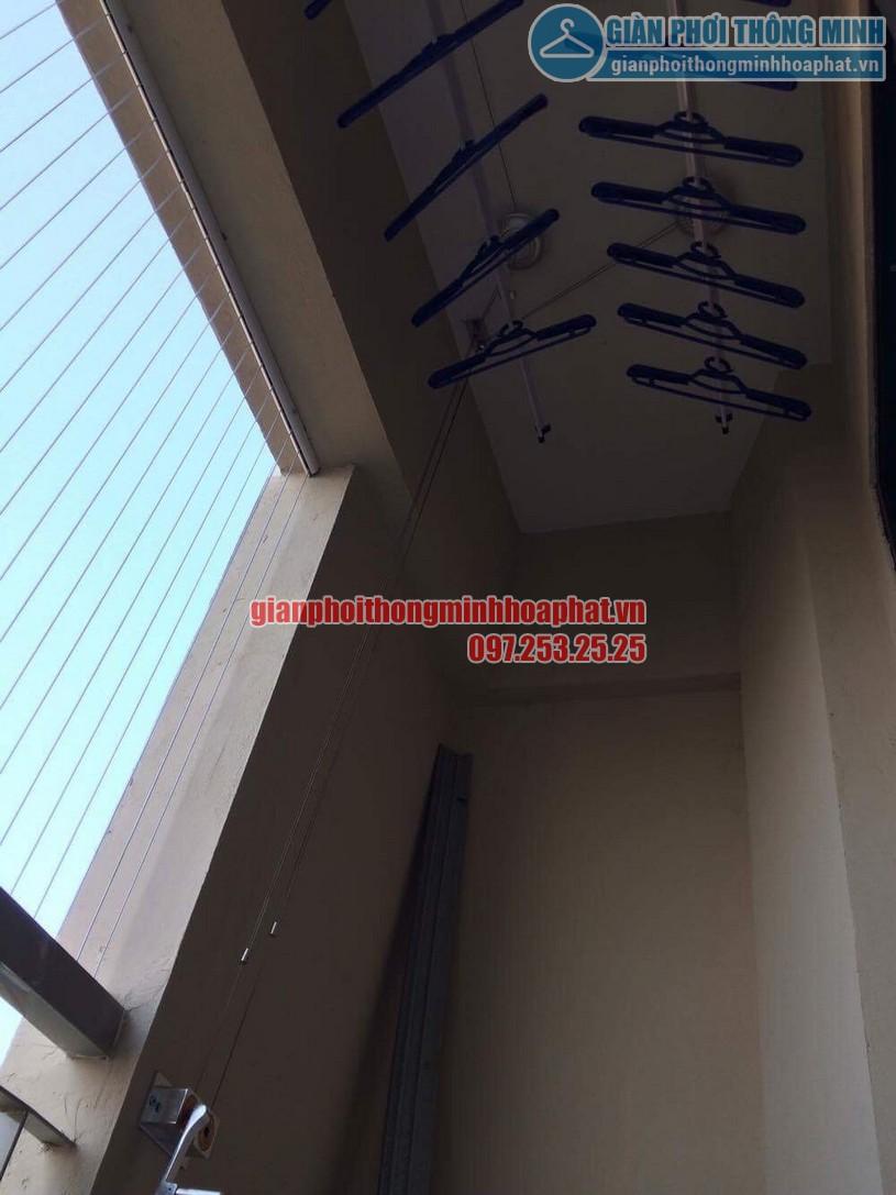 Lắp đặt lưới an toàn ban công chung cư CT7A khu đô thị Đặng Xá-03