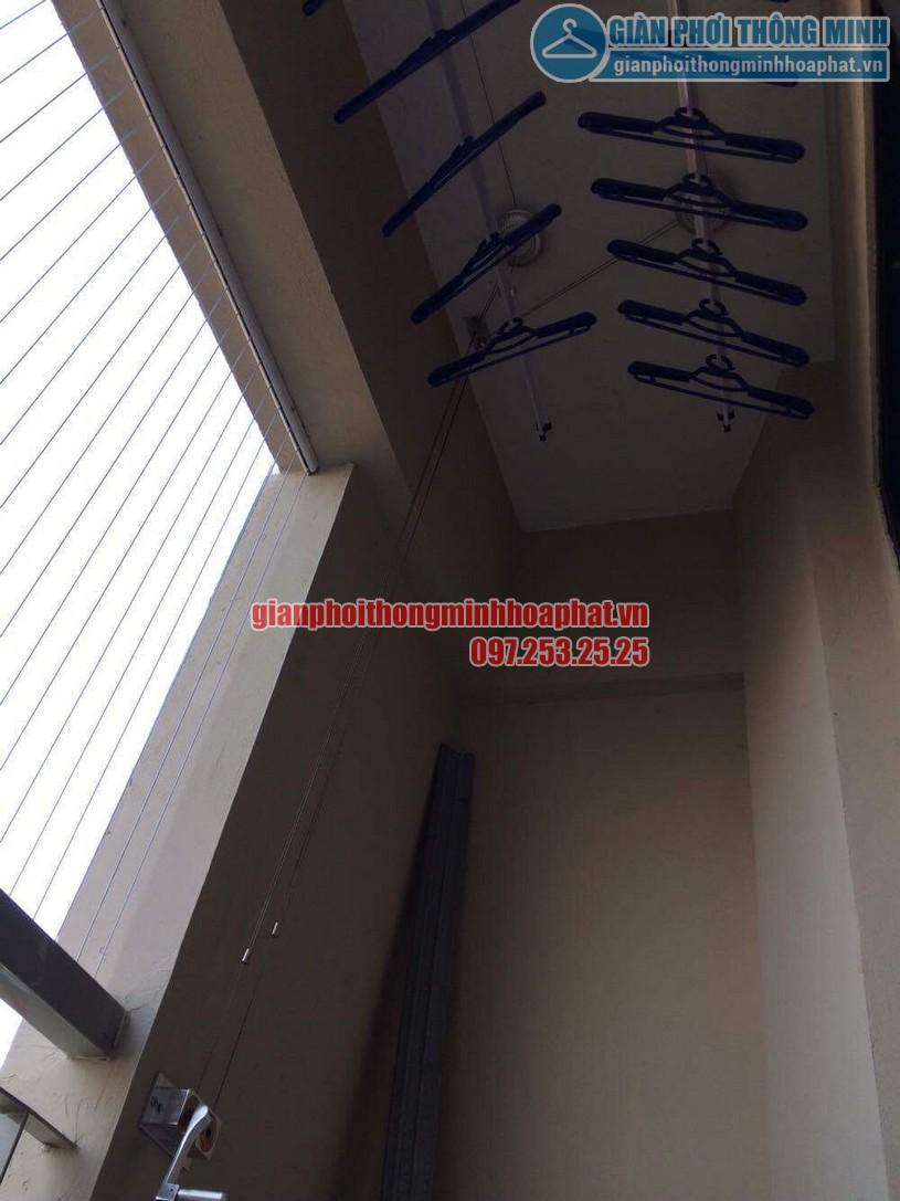 Lắp đặt lưới an toàn ban công chung cư CT7A khu đô thị Đặng Xá-02