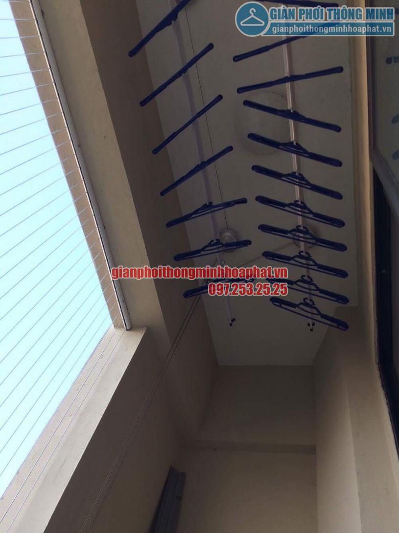 Lắp đặt lưới an toàn ban công chung cư CT7A khu đô thị Đặng Xá-01
