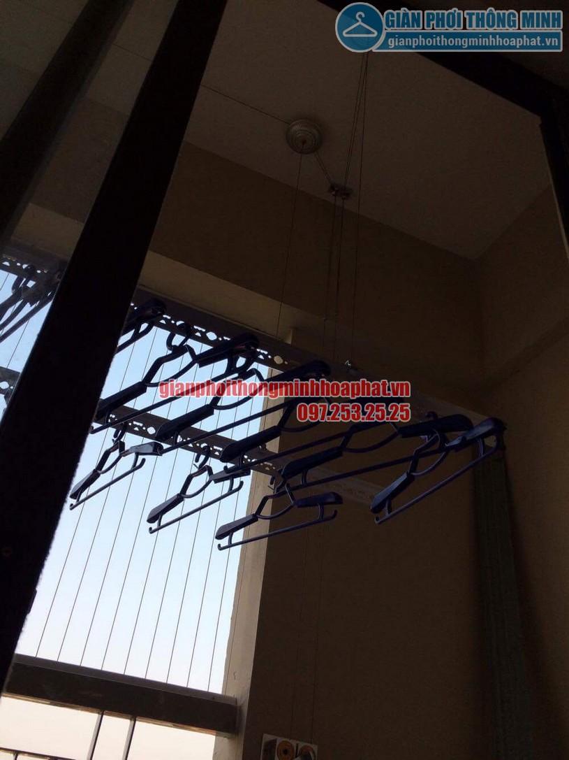 Lưới an toàn ban công chung cư tại nhà chú Đức-02