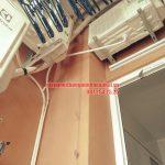 Quy trình lắp đặt giàn phơi tại không gian nhỏ nhà anh Hùng chung cư CT2, Nghĩa Đô