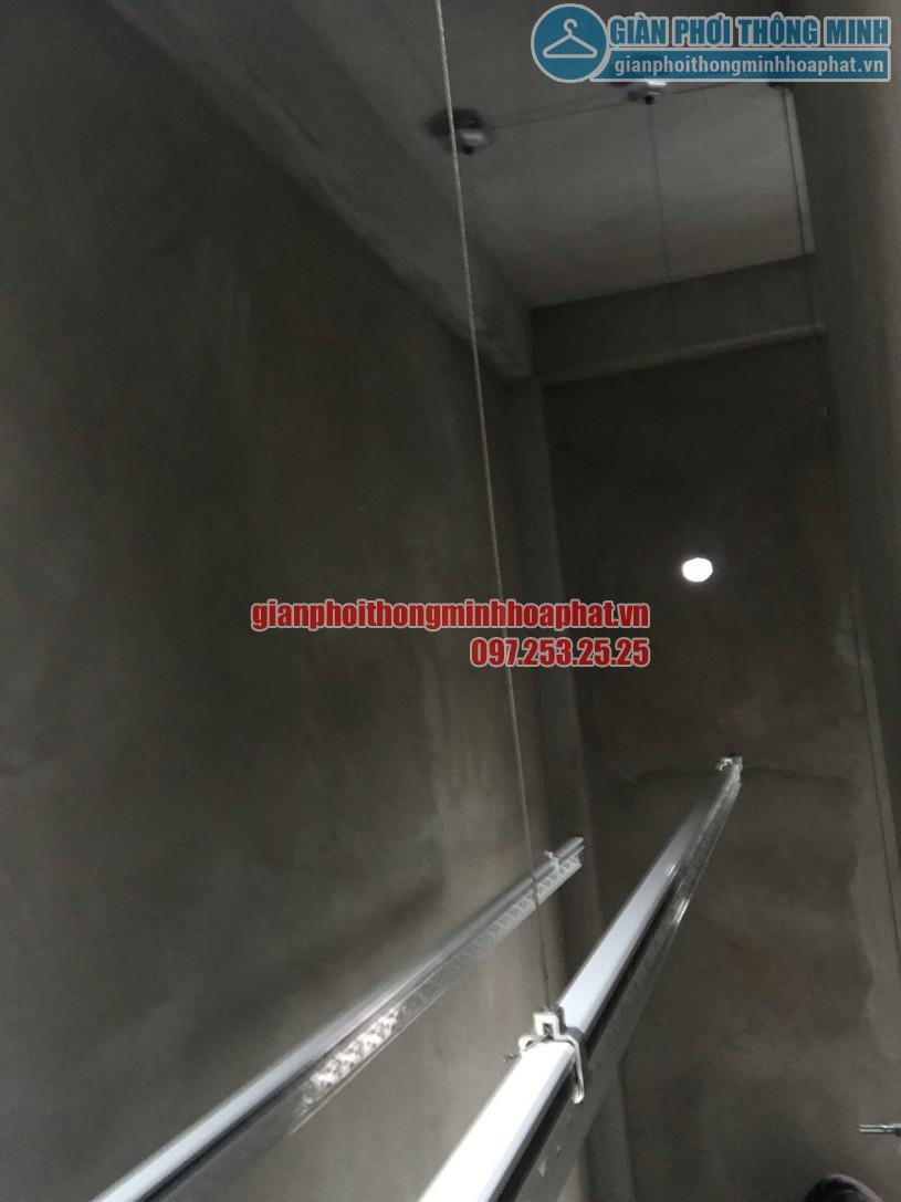 Hoàn thiện lắp đặt bộ giàn phơi HP999B nhà chị Hải ngõ 8, Ngọc Hồi, Thanh Trì-03