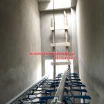 Hoàn thiện lắp đặt bộ giàn phơi HP999B nhà chị Hải ngõ 8, Ngọc Hồi, Thanh Trì