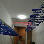 Lắp giàn phơi gắn trần thạch cao nhà anh Chiến quận Hoàng Mai, Hà Nội