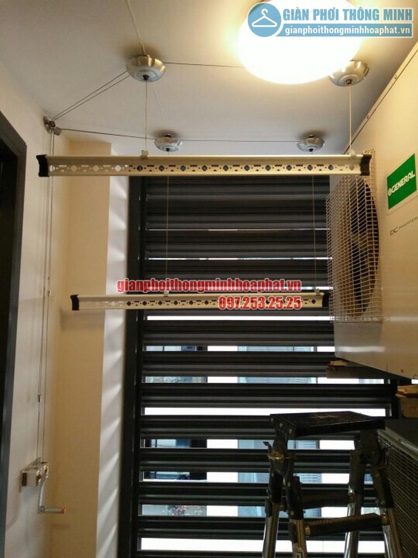 Thanh phơi dài 2m4 của bộ HP999B đã được cắt đôi
