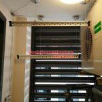 Lắp giàn phơi thông minh nhà chị Chanh chung cư CT1B Nghĩa Đô, Cầu Giấy, Hà Nội