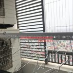 Lắp giàn phơi thông minh nhà cô Lành tòa Mipec Tower 229 Tây Sơn, Đống Đa