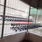 Thi công lắp đặt giàn phơi tại trần mái tôn nhà anh Tam ngõ 8 Tô Hiệu, Nguyễn Trãi, Hà Đông