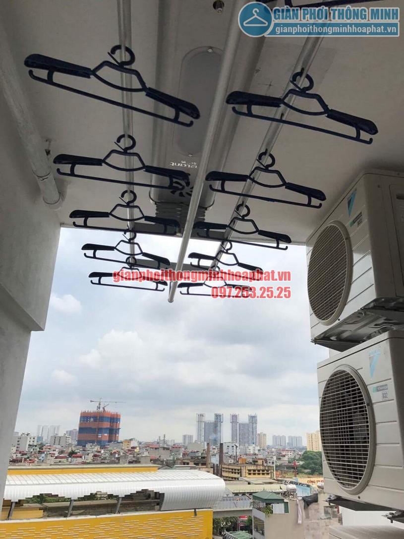 Lắp đặt bộ giàn phơi điều khiển từ xa nhà anh Thiện Chính Kinh-05
