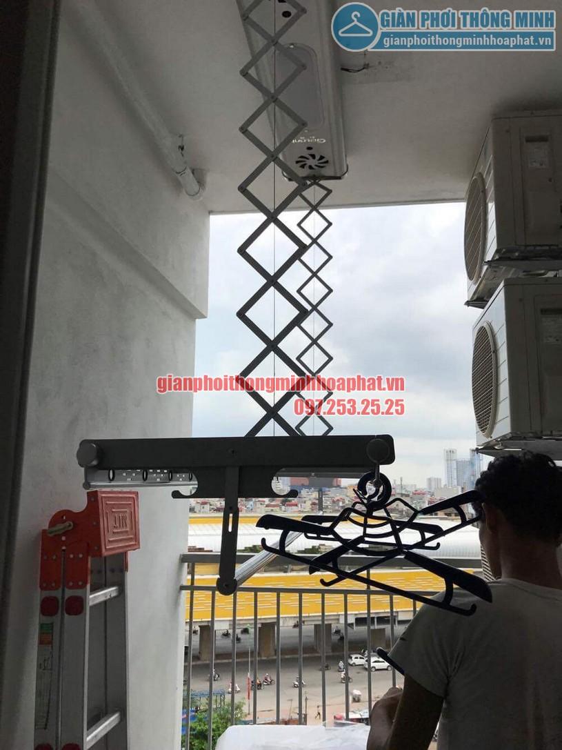 Lắp đặt bộ giàn phơi điều khiển từ xa nhà anh Thiện Chính Kinh-09