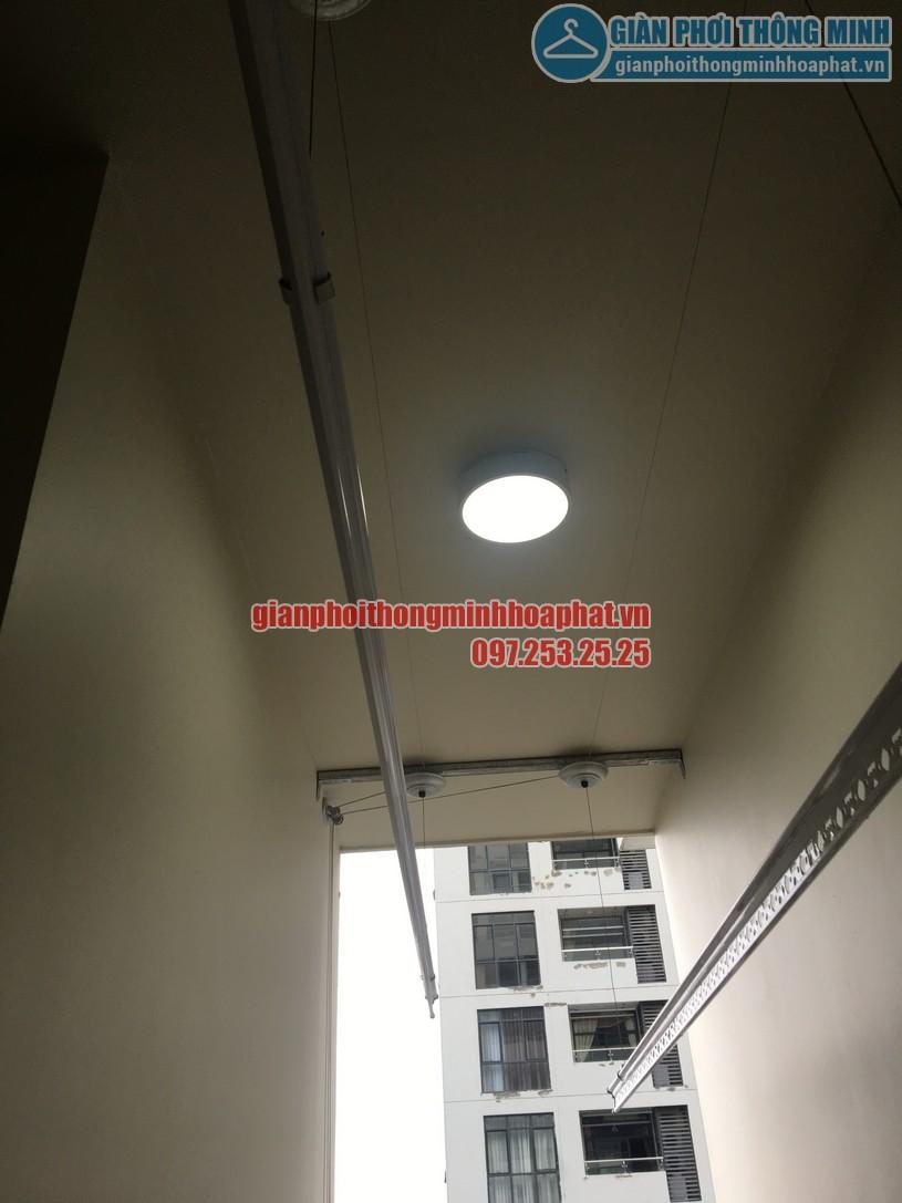 Lắp giàn phơi nhà anh Trung phòng 1606, tòa CT2B, chung cư Tràng An -09