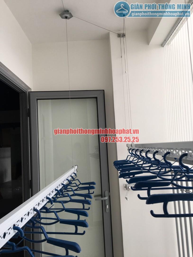 Lắp đặt giàn phơi tại nhà chị Nghĩa phòng 2511, Park 7, Park Hill-01