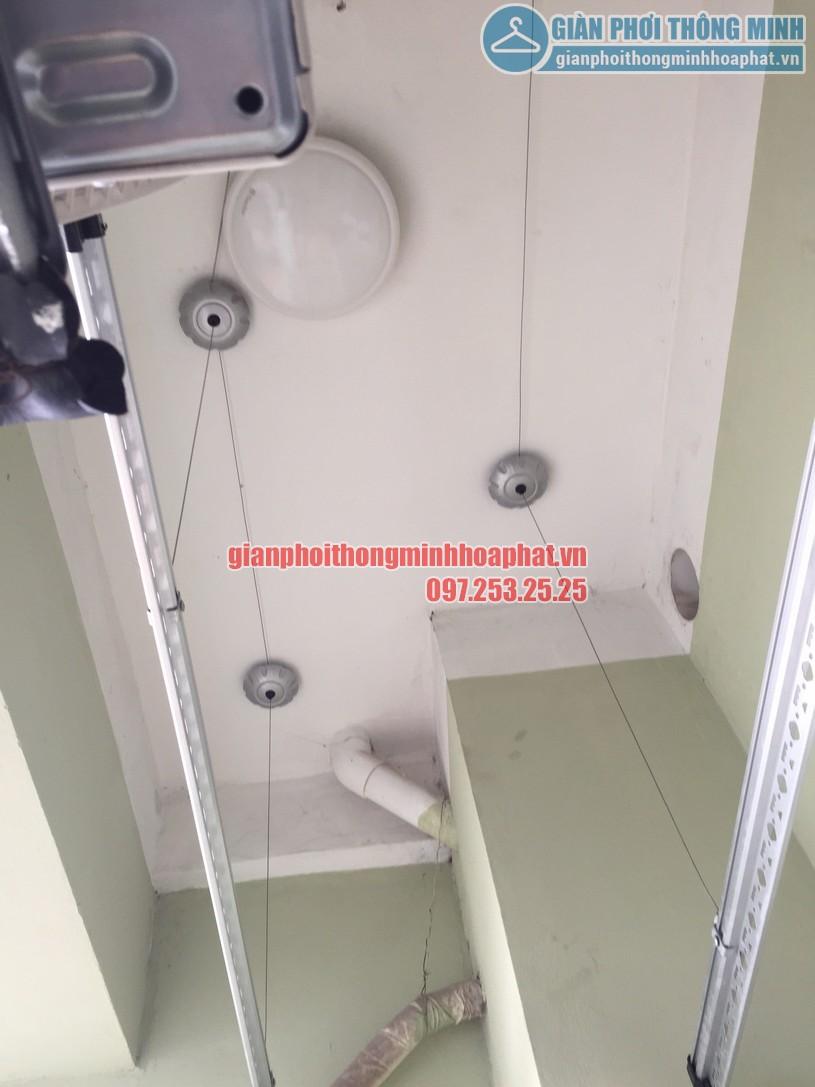 Ngắm giàn phơi thông minh nhà chị Tâm chung cư Vinaconex 7, Hồ Tùng Mậu-03