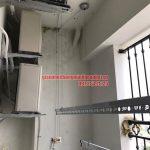 Lắp đặt giàn phơi thông minh nhà chú Quyền chung cư D2 Giảng Võ, Ba Đình, Hà Nội