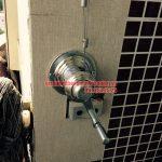 Lắp giàn phơi tại ban công nhà chị Chinh chung cư CT1A, Mỹ Đình 2, Nam Từ Liêm