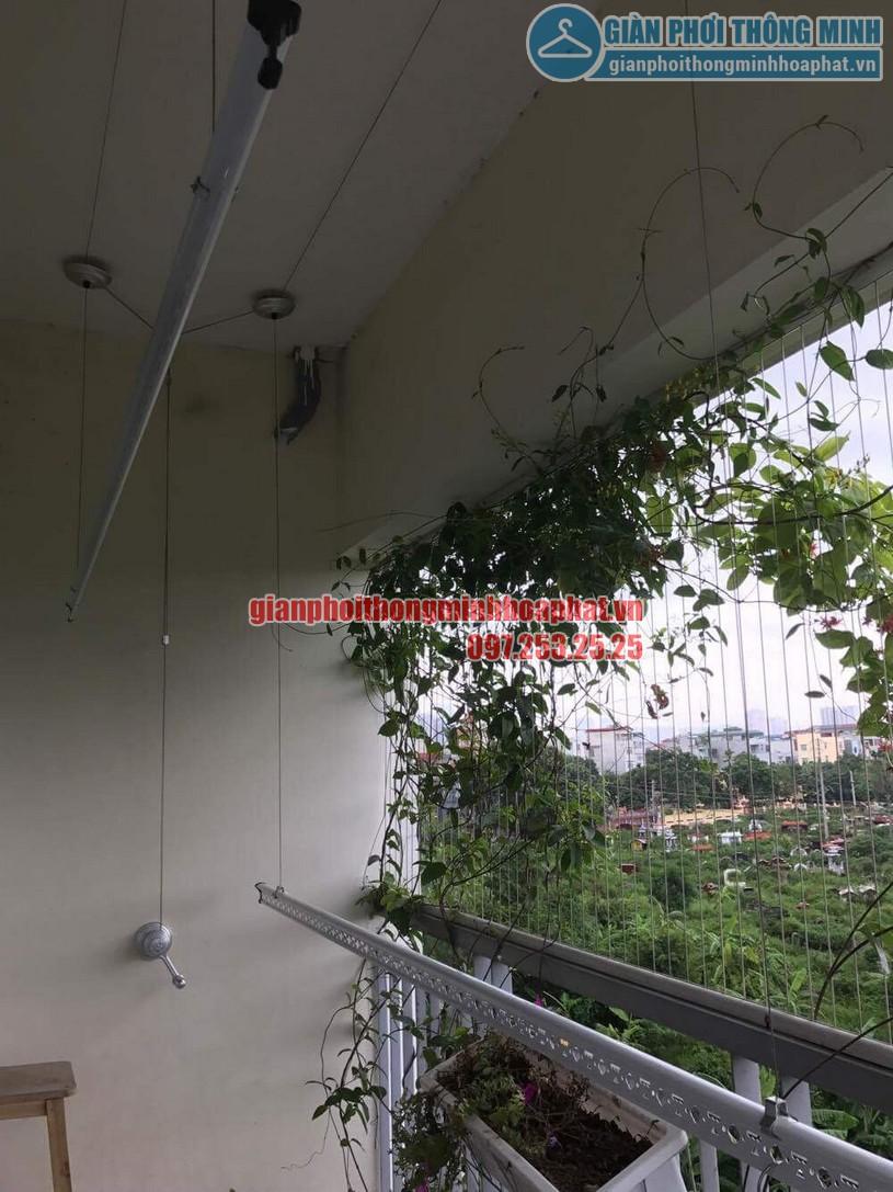 Lắp giàn phơi nhà cô Hương chung cư Viện 103, Văn Quán, Hà Đông- 10