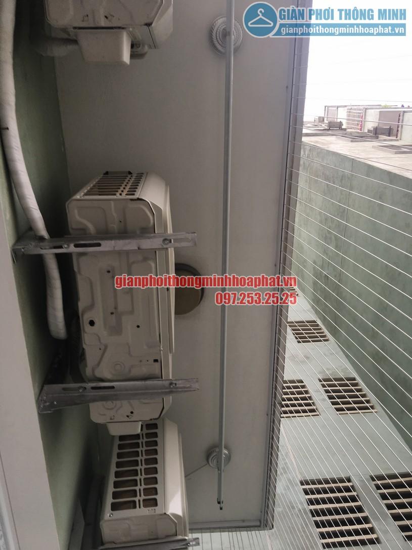 Ngắm bộ giàn phơi thông minh HP900 nhà anh Kiên N4B chung cư Trung Hòa - Nhân Chính-02
