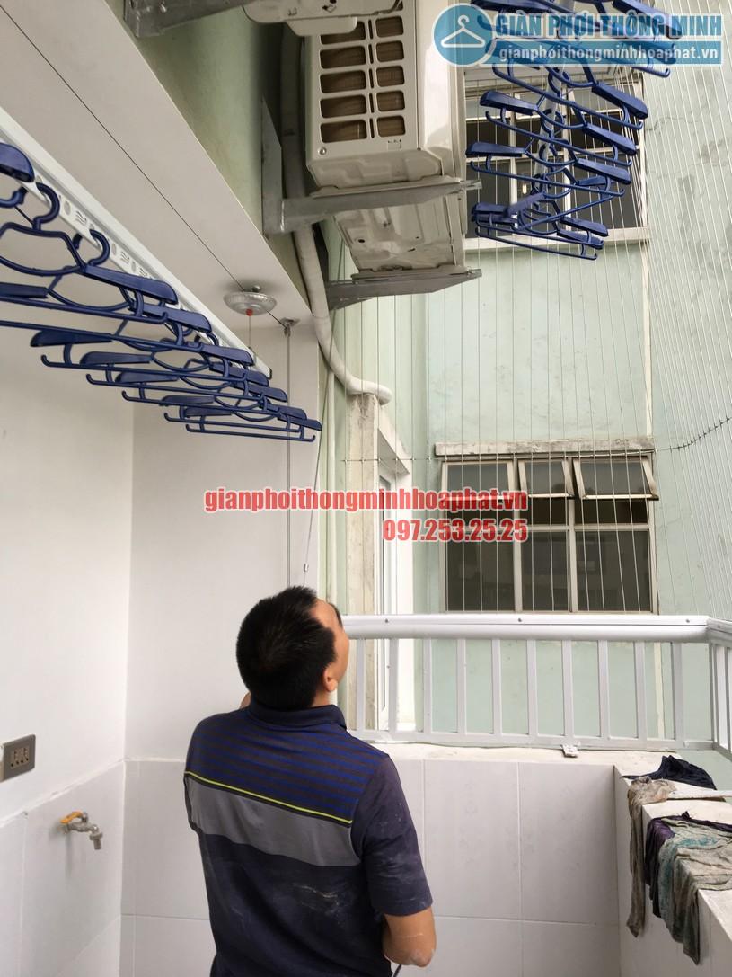 Ngắm bộ giàn phơi thông minh HP900 nhà anh Kiên N4B chung cư Trung Hòa - Nhân Chính-05