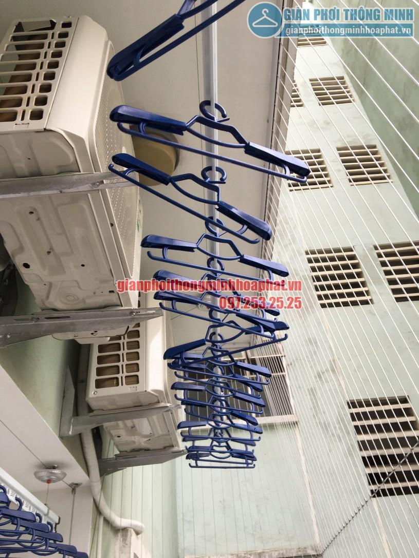 Ngắm bộ giàn phơi thông minh HP900 nhà anh Kiên N4B chung cư Trung Hòa - Nhân Chính-06
