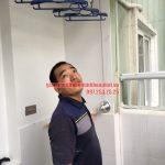 Ngắm bộ giàn phơi thông minh HP900 nhà anh Kiên N4B chung cư Trung Hòa – Nhân Chính
