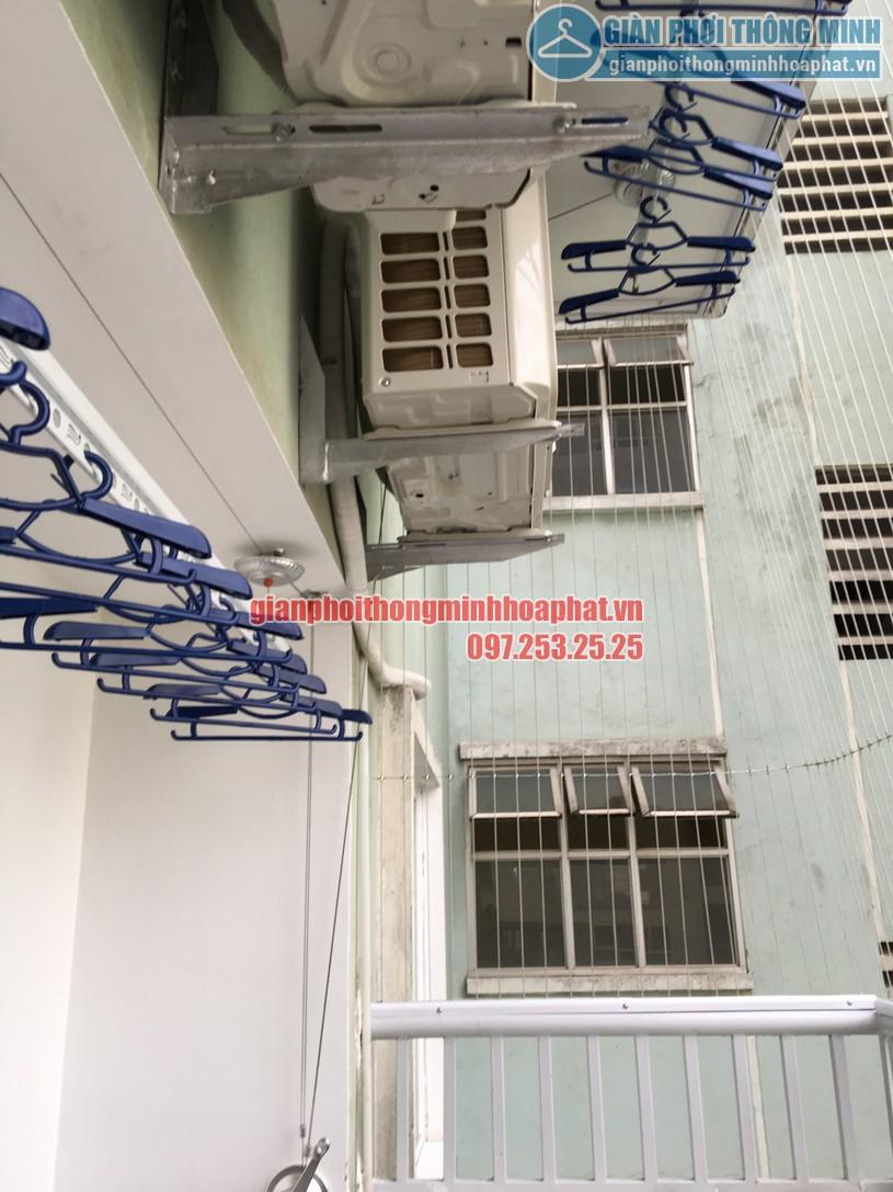 Ngắm bộ giàn phơi thông minh HP900 nhà anh Kiên N4B chung cư Trung Hòa - Nhân Chính-08