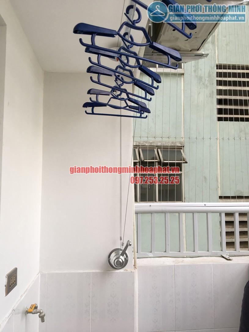 Ngắm bộ giàn phơi thông minh HP900 nhà anh Kiên N4B chung cư Trung Hòa - Nhân Chính-09