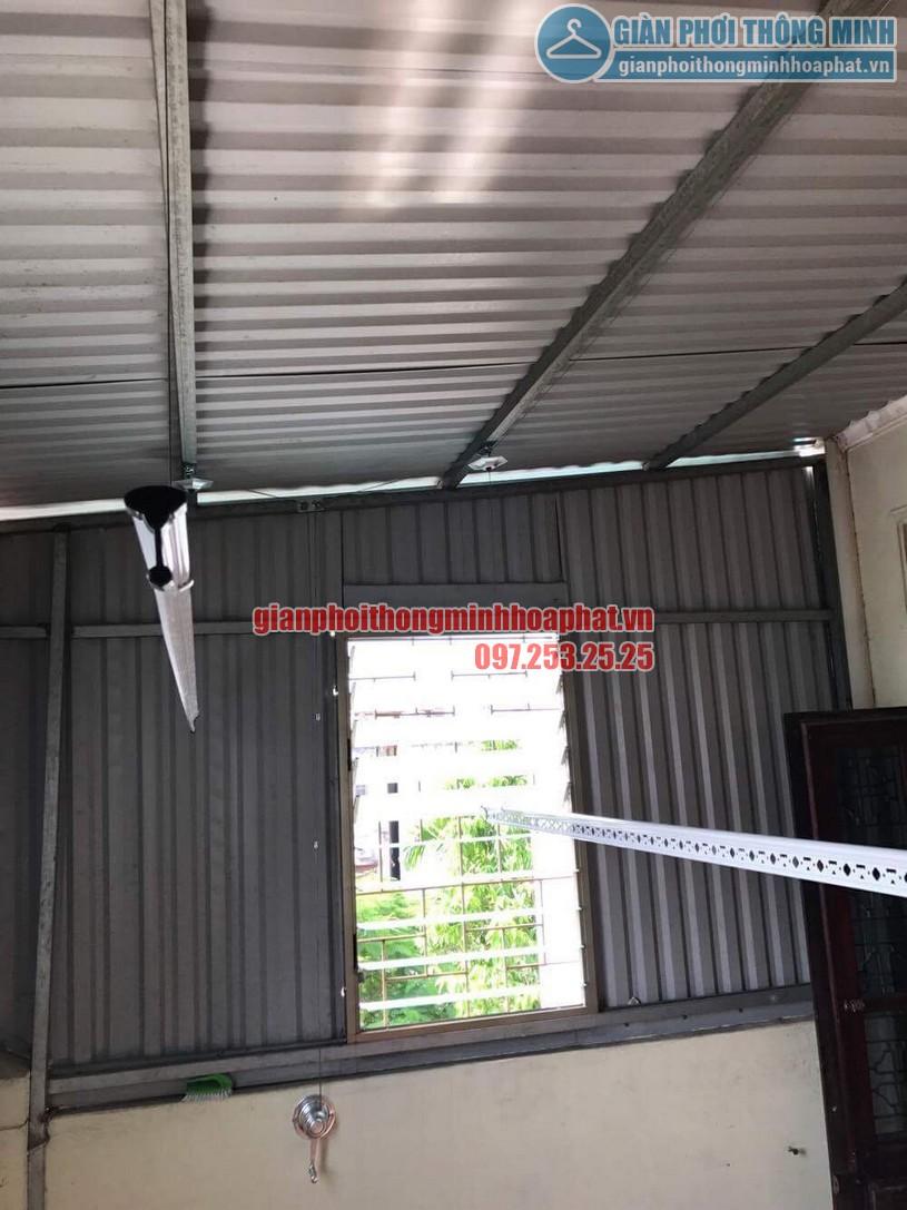 Lắp đặt giàn phơi HP990 cho trần mái tôn nhà anh Sơn ngõ 409 Kim Mã-06