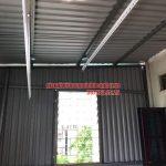 Lắp đặt giàn phơi HP990 cho trần mái tôn nhà anh Sơn ngõ 409 Kim Mã, Ba Đình, Hà Nội