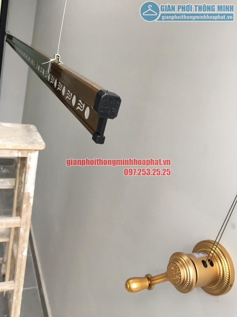 Ban công sang trọng với bộ giàn phơi HP900 tại nhà chị Hằng, Trần Quý Kiên-07